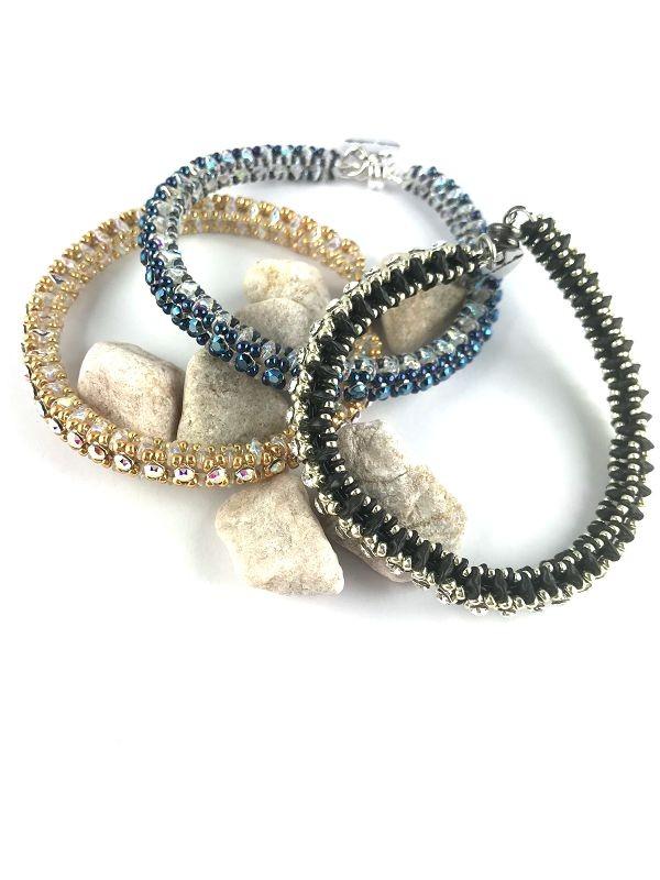 Swarovski® Crystal-Mesh Armband