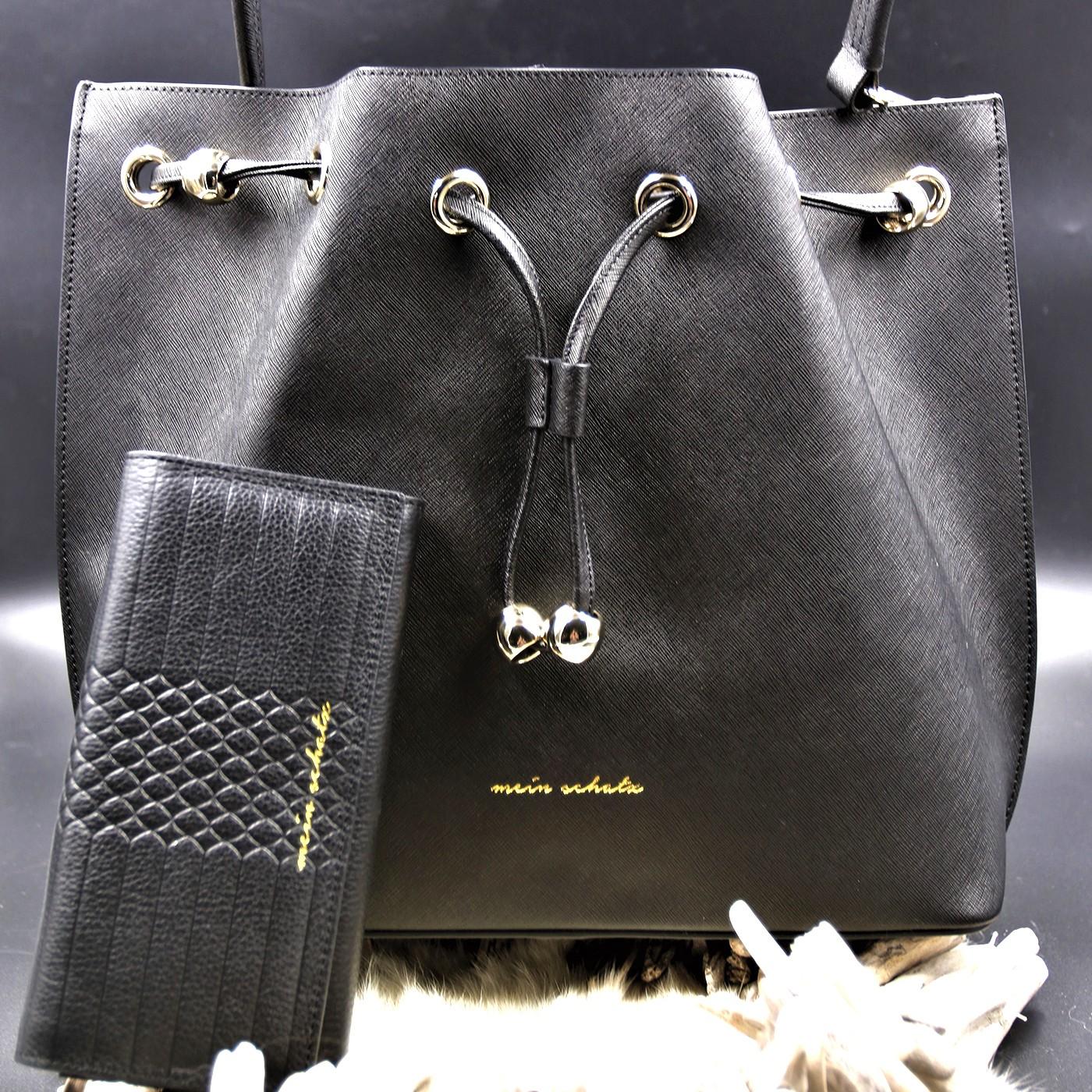 Mein Schatz© Beuteltasche Plain mit Portemonnaie